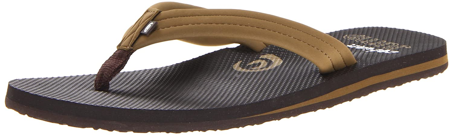 be78c6e0fb11a Cobian Men's Aqua Jump Flip Flop, Brown, 8 M US: Buy Online at Low ...