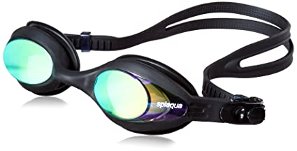 140db5696656 Amazon.com   Prescription Swim Goggles with Mirror Lens