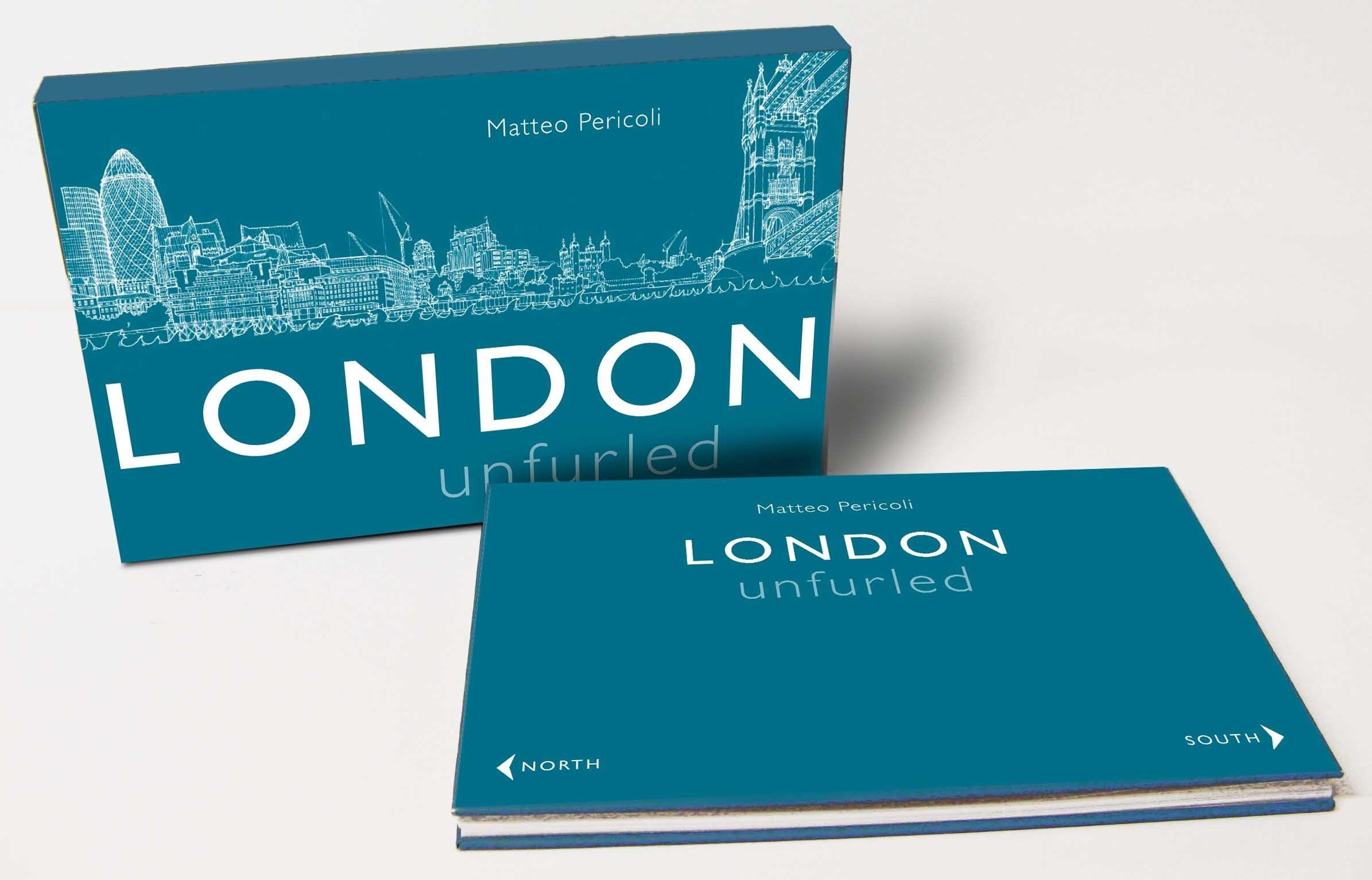 London Unfurled: Matteo Pericoli: 9780330517829: Amazon.com: Books