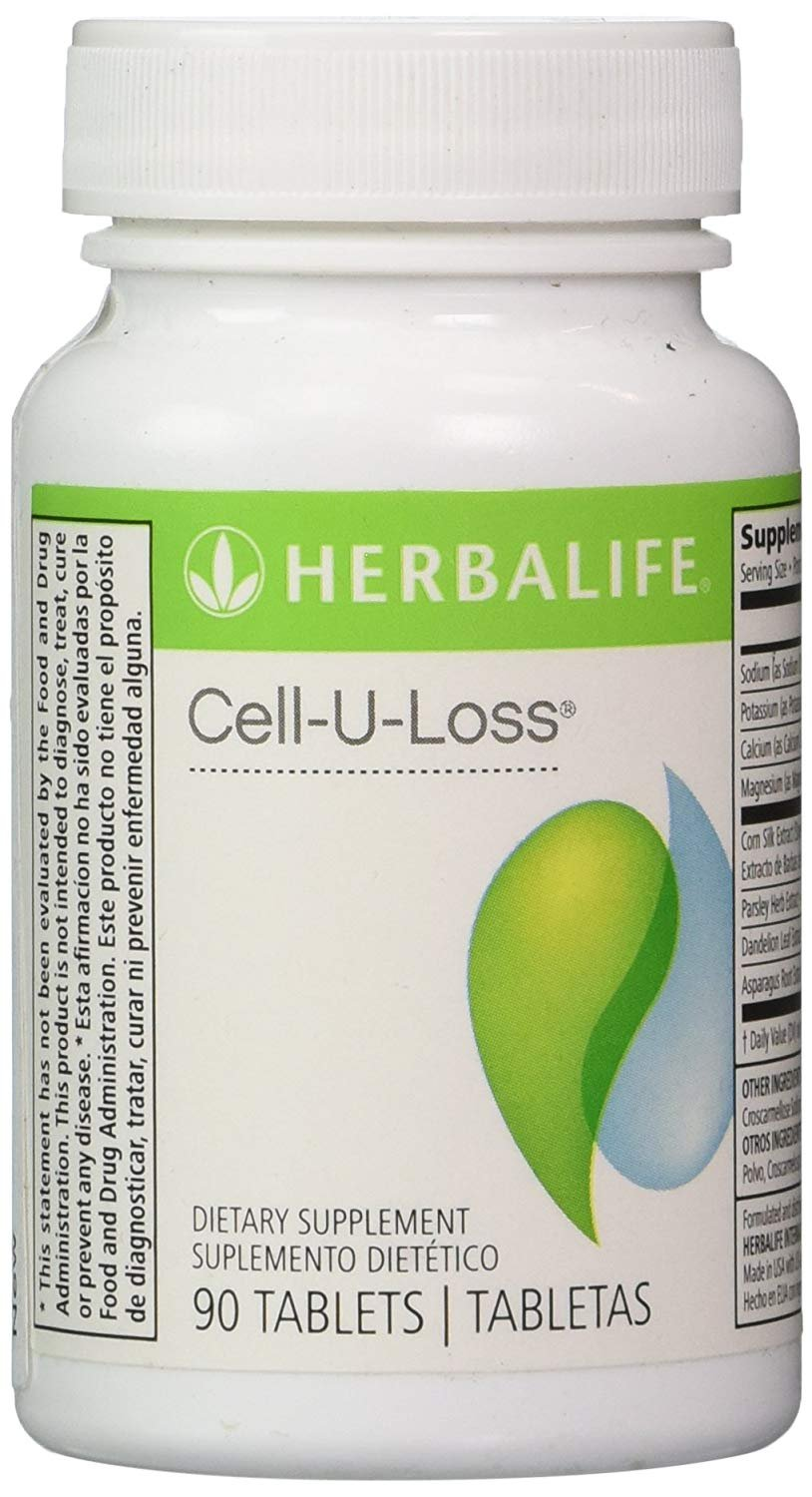 Herbalife Cell-U-Loss® Weight Loss Enhancer Natural Detoxification and Healthy Elimination of
