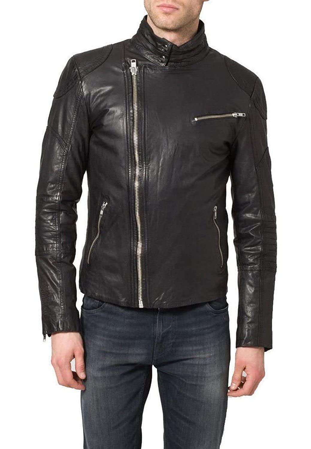 Leather Junction - Giacca - Uomo