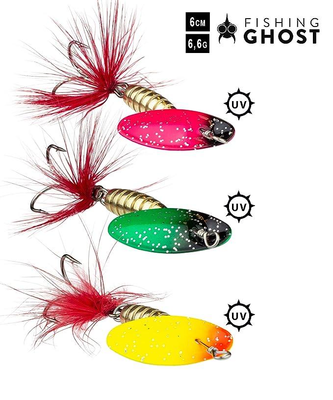 FISHINGGHOST Bait Candy Set Gewicht: 18 Gramm Kunstköder 4x Länge: 12 cm