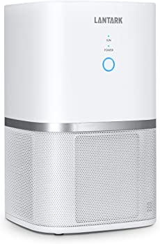 Lantark 5-in-1 Air Purifier with True HEPA Filter