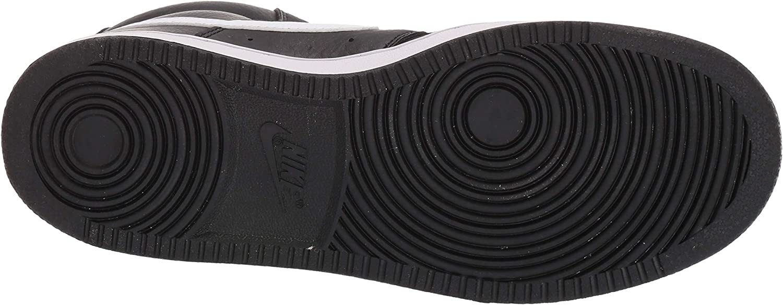 Nike WMNS Court Vision Mid, Chaussures de Fitness Femme Noir Black White 001