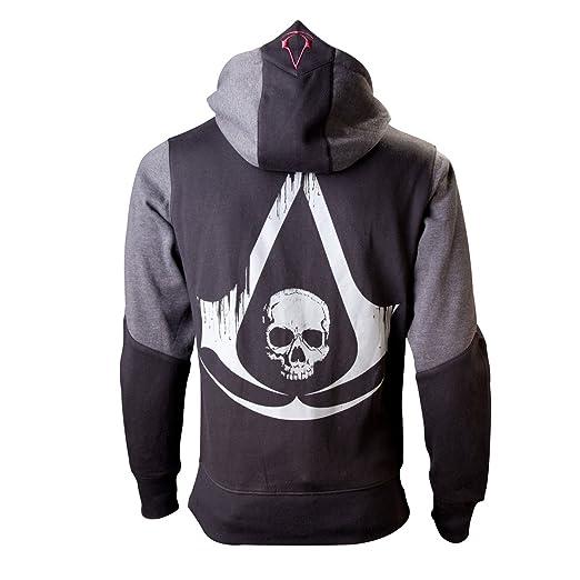 103 opinioni per Assassin's Creed IV- Black Flag- Felpa con cappuccio- Con cerniera sul lato
