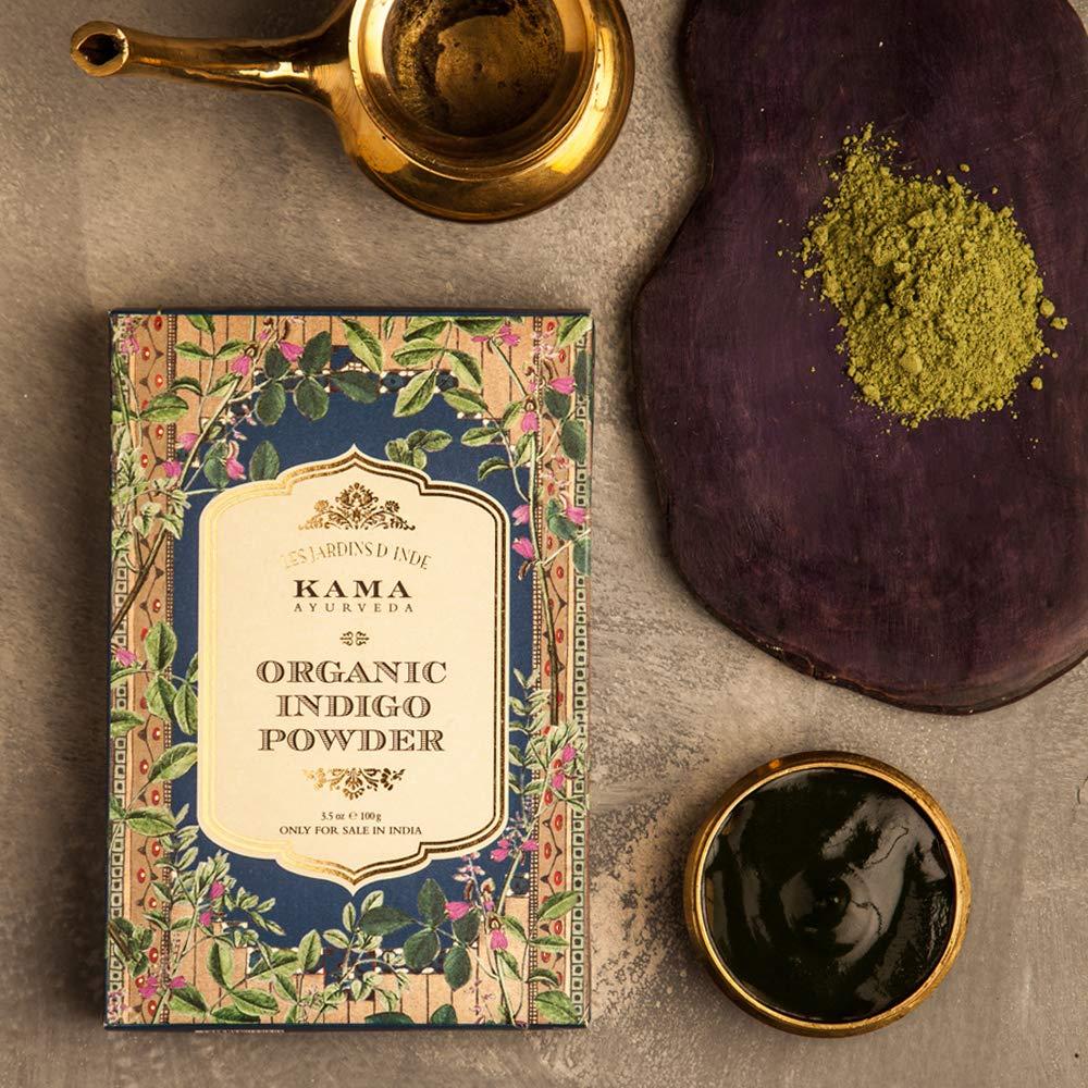 Kama Ayurveda Natural Organic Hair Color Kit - Best Herbal Hair Colour in India