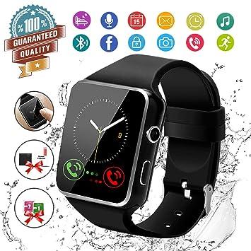 Reloj inteligente con pantalla táctil y Bluetooth, con ranura para ...