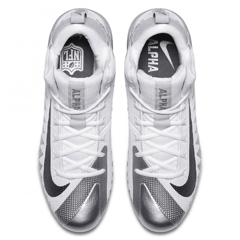 Nike Alpha Menace Pro Mid Footballschuhe - schwarz schwarz schwarz e162eb