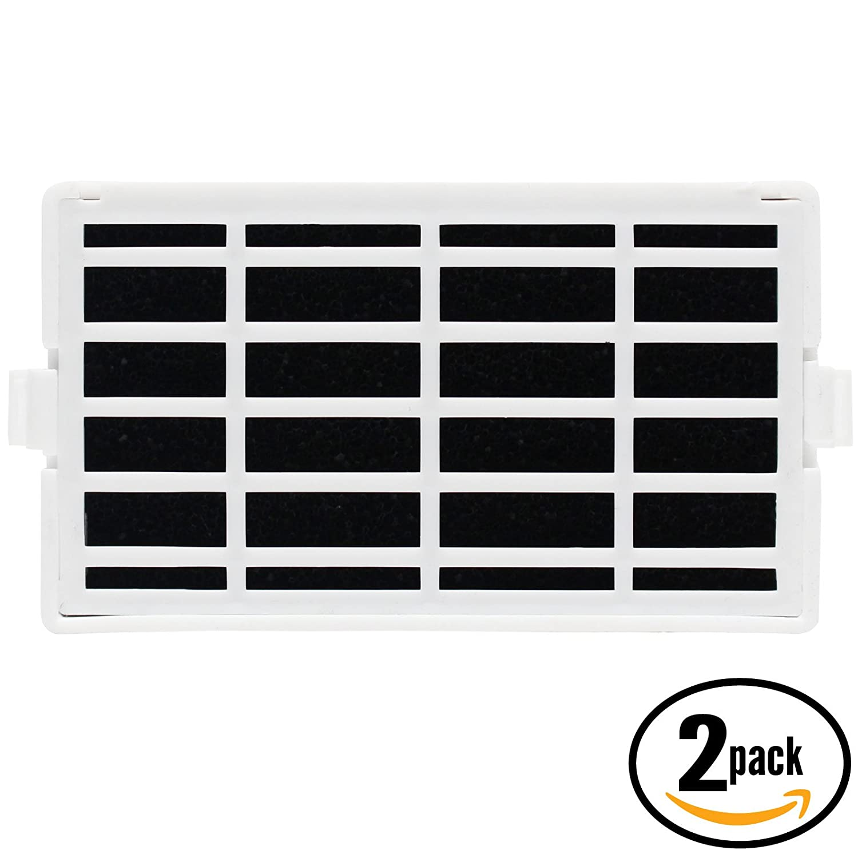 2-Pack Replacement KitchenAid KRFF300ESS00 Refrigerator Air Filter - Compatible KitchenAid W10311524, AIR1 Fridge Air Filter