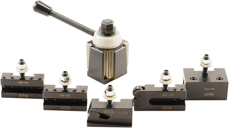 Shars 14-20 CNC Lathe CXA Wedge Quick Change Tool Post Set 250-444 202-9477 R