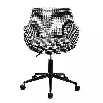 Skei silla de escritorio estilo escandinavo giratoria con ruedas: Amazon.es: Hogar