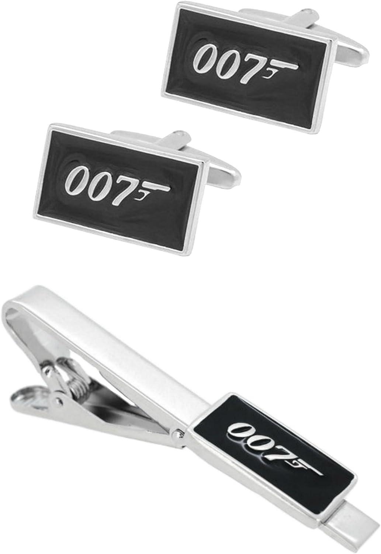 Amazon.com: James Bond 007 Gemelos & Tiebar – nuevo 2018 ...