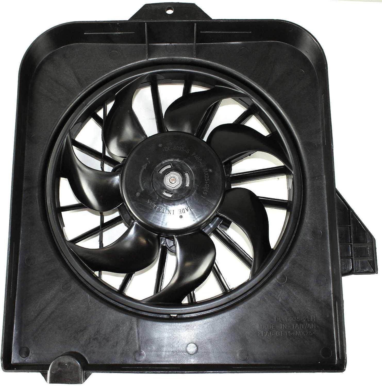 Fan Assembly compatible with Dodge Caravan 01-05 Left