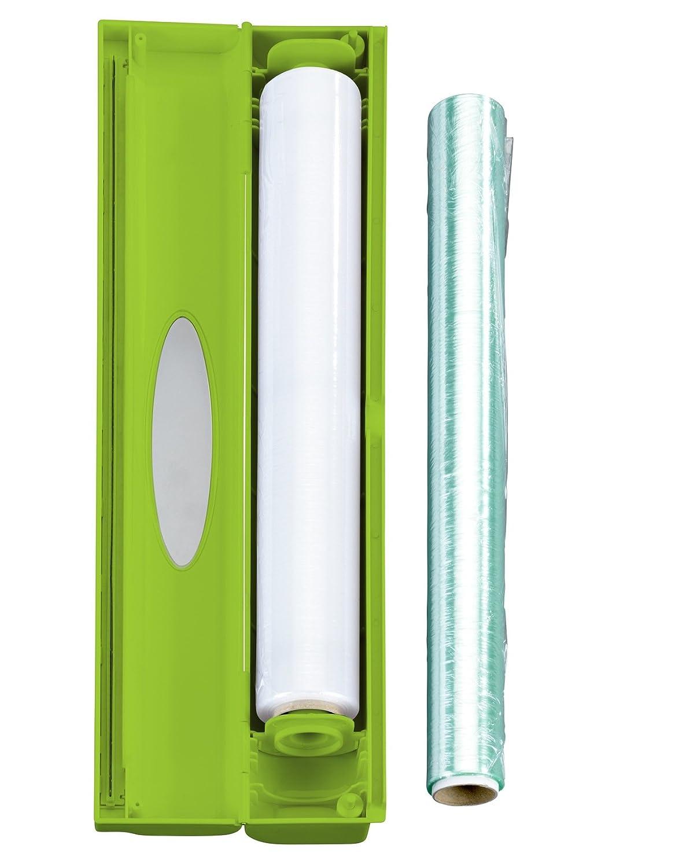 plastica antracite Wenko 86678100/Dispenser di pellicola alimentare Perfect Cutter 38/x 5,2/x 6,7/cm