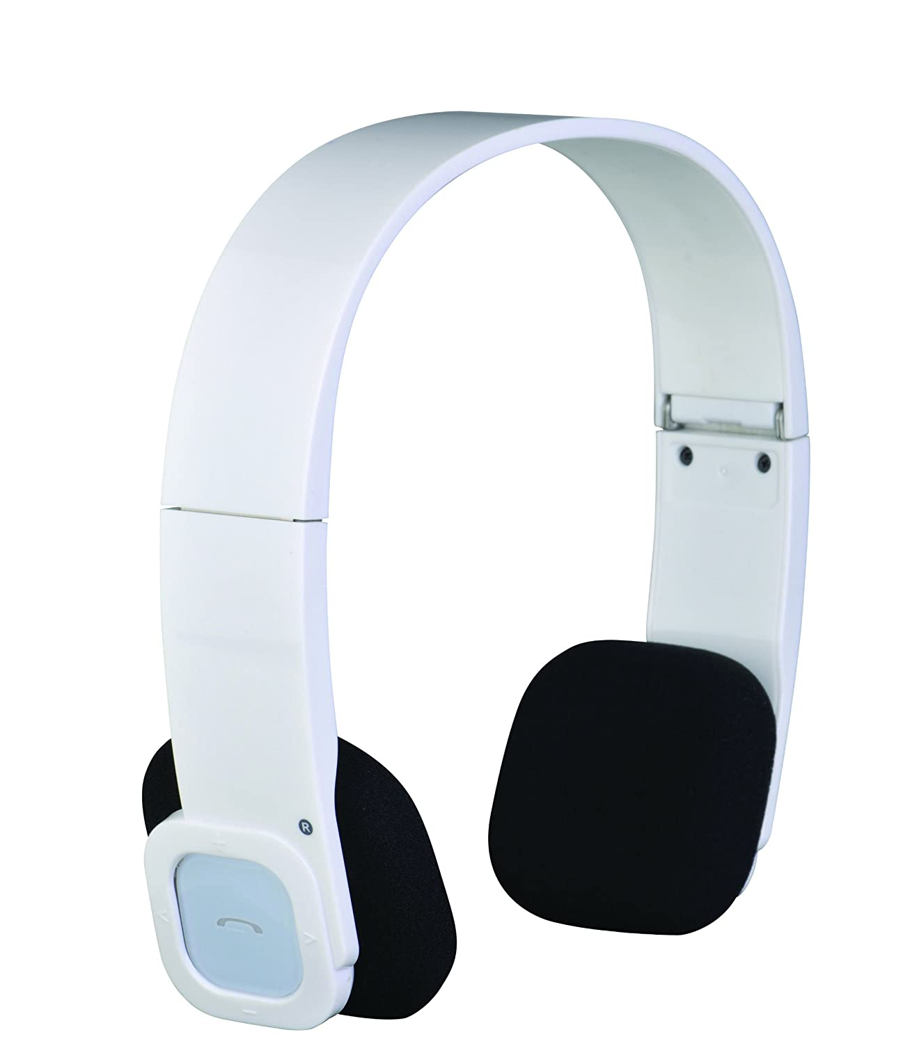 EXH 32BT Exonic Wireless Bluetooth Headphones with Touch Button Foldable Rechargeable White Ample Audio Inc.