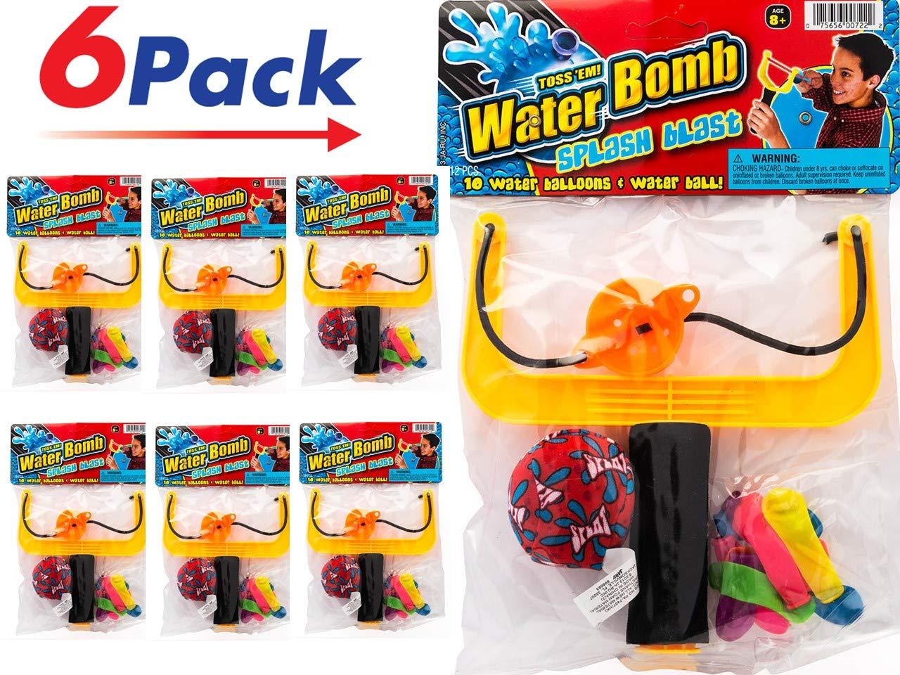 Item #722-1 Ja-Ru by 2CHILL Slingshot Water Balloons Splash Ball Kit