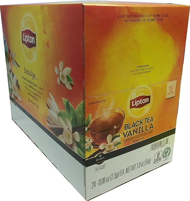 LiptonK-Cups, Indulge Black Tea Vanilla 24 ct