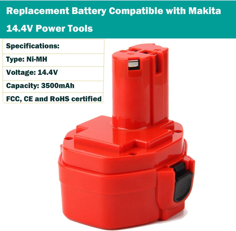 14.4V 3.0Ah Ni-MH Akku pour Makita 5094DWD 5630DWD 1051D 1051DWD 1420 1422 PA14