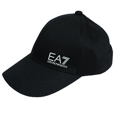 Emporio Armani - Casquette de Baseball - Homme Noir Noir Taille Unique b01447ae2d0