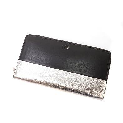 345c0571e707 Amazon | [セリーヌ]バイカラー 長財布(小銭入れあり) レザー ...