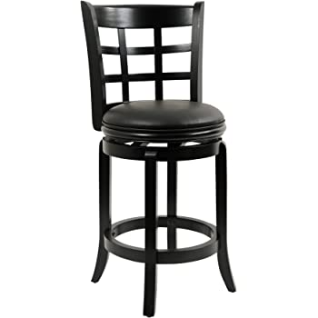 Amazon Com Amisco Windsor Swivel Metal Counter Stool With