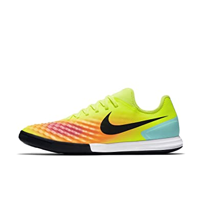 Nike Cleats Magistax Finale Ii Ic Yellow Black White New Year Deals