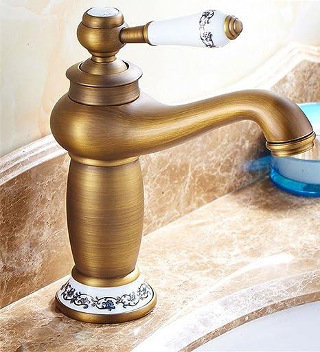 modern brass basin sink faucet bathroom