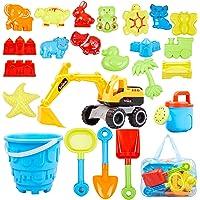 Ayukawa 23 Pcs Beach Sand Toys Deals