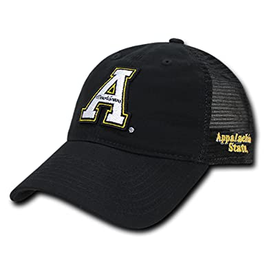 6a5fedbb2d8 Image Unavailable. Image not available for. Color  ASU Appalachian App  State University Mountaineers Polo Relaxed Trucker Mesh Baseball Ball Cap  Hat