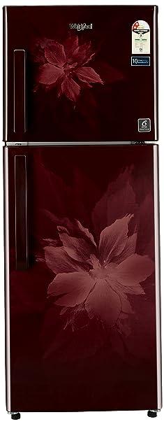 Whirlpool 245 L 2 Star Frost Free Double Door Refrigerator Neo FR 258 CLS Plus 2S, Wine Regalia  Refrigerators