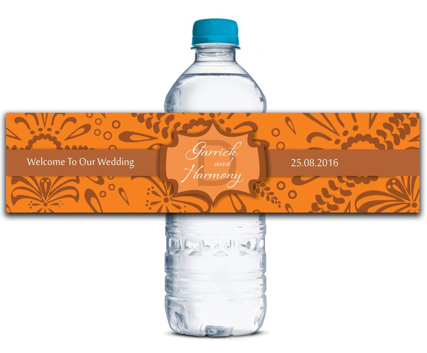 Personalisierte Personalisierte Personalisierte Wasserflasche Etiketten Selbstklebende wasserdichte Kundenspezifische Geburtstags-Aufkleber 8  x 2  Zoll - 50 Etiketten B01A0W5GMY | Hohe Qualität und geringer Aufwand  7bd1e2