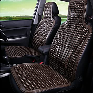 Car Seat Cushion Peleustech Summer Cool PVC Beaded Cover Massage