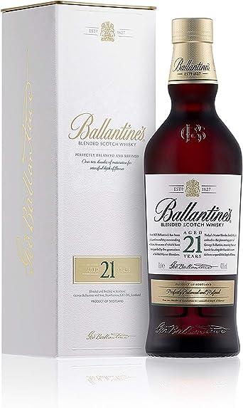 Ballantines 21 años Whisky Escocés de Mezcla - 700 ml