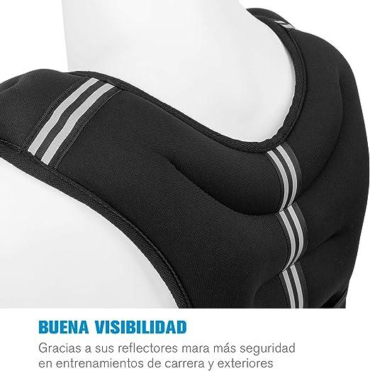 CapitalSports X-Vest Chaleco de Peso - 5 kg, Material: Neopreno ...