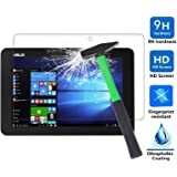 Asus Transformer Mini T102HA Screen Protector, Infiland Premium HD clear Tempered Glass Screen Protector for Asus Transformer Mini T102HA Tablet-PC (Tempered Glass)