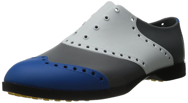 Biion(バイオン) BI1030 ゴルフシューズ BOW-1030 青、白/シルバー B00TJEE978 M10(28cm)