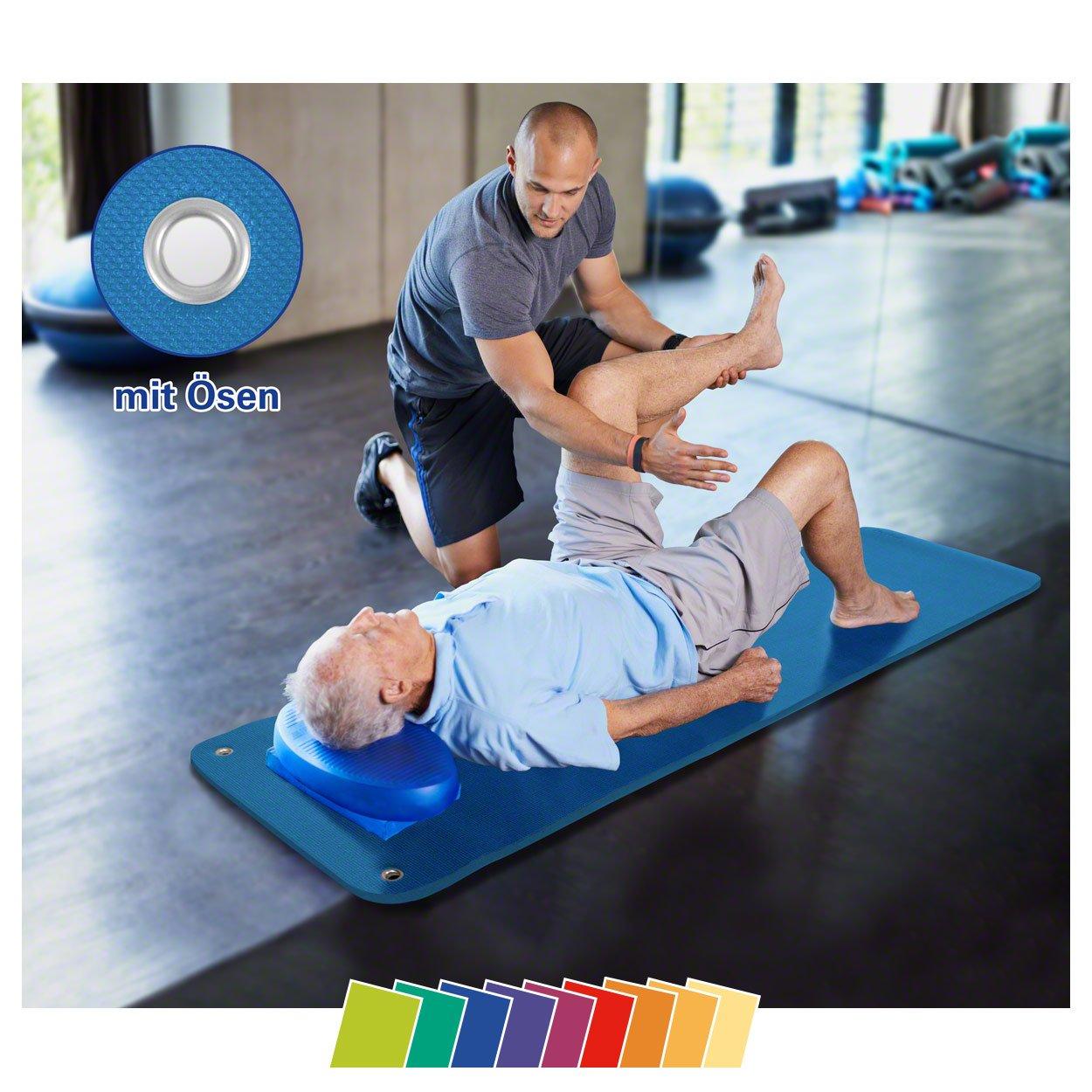 Sport-Tec Therapiematte inkl. Ösen, LxBxH 180x60x1,5 cm