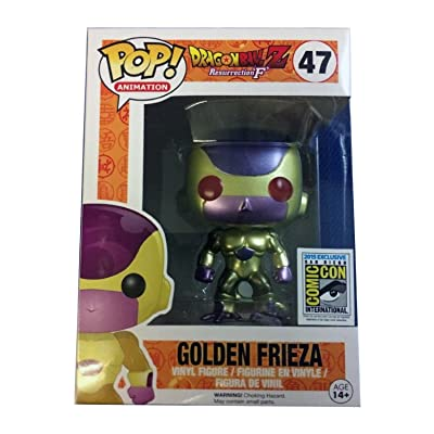 Funko Pop Golden Frieza No. 47 Action Figure with Red Eyes: Toys & Games
