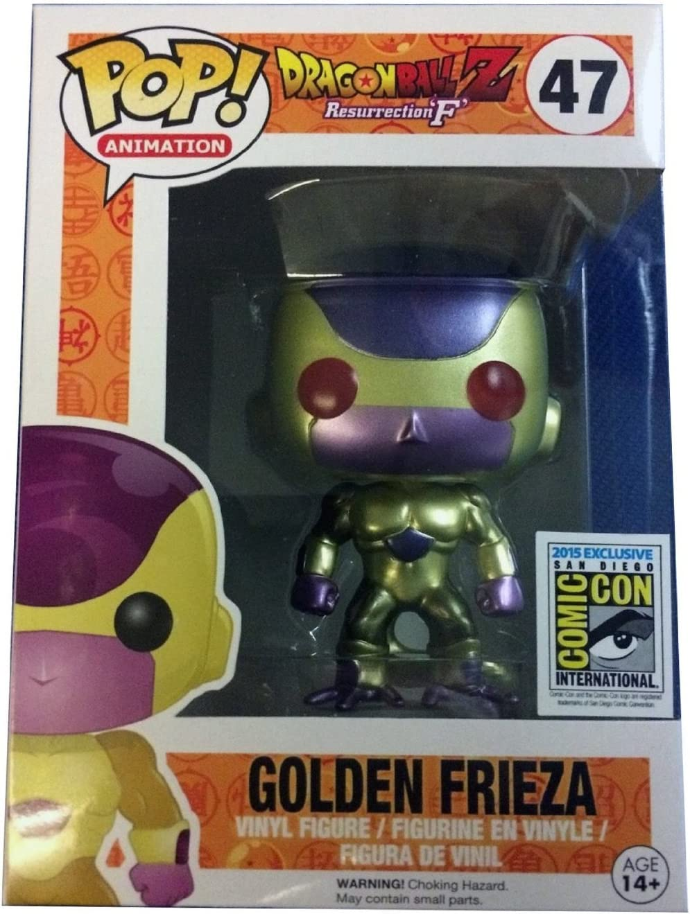 47#FUNKO POP GOLDEN FRIEZA DRAGONBALLZ Vinyl Action Figures