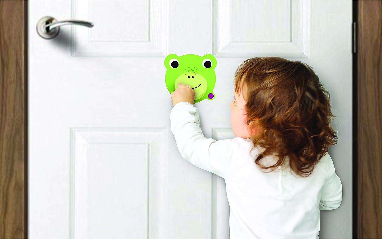 Crroaky Oribel Inc SG/_B07DLMZRZG/_US Wall Toy Knock Knock Door Knocker ORIBEL VertiPlay