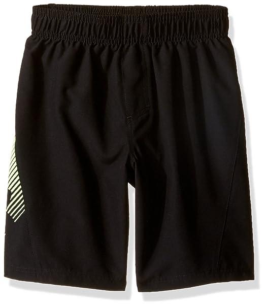 f33d913337fba Under Armour Little Boys' Slash Volley Swim Shorts, Black, ...