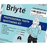 Briyte ™ Sbiancamento dei denti Kit Home Whitening Pro (TEETH WHITENING) con luce gel & Briyte Crest