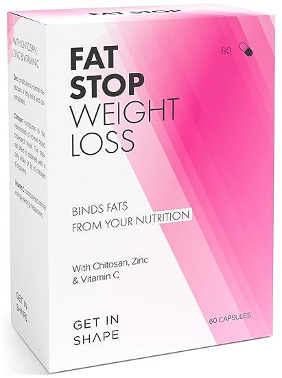 FAT STOP – Cápsulas bloqueadoras de grasa – Se adhiere a las grasas de los alimentos
