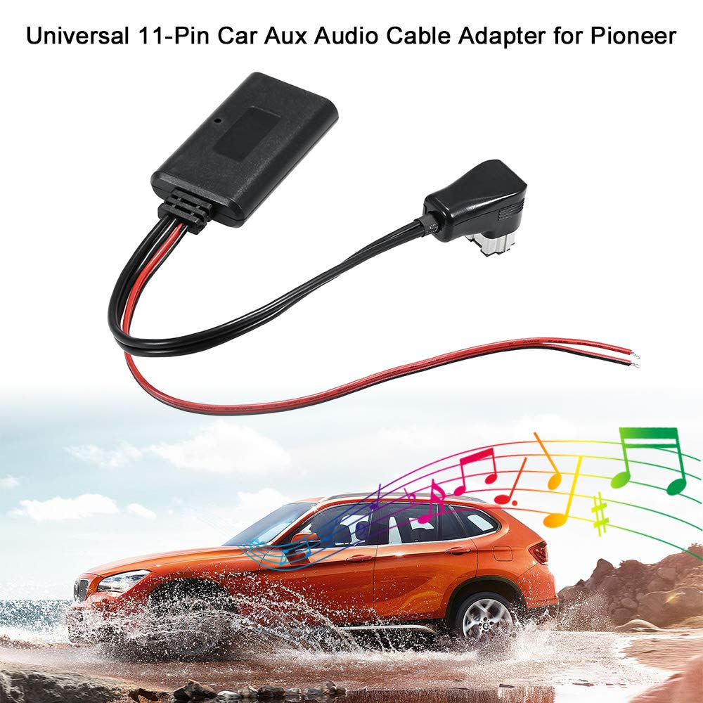 Universal Auto Aux Audio Kabel Adapter 11Pin BT f/ür Pioneer IP-Bus Auxiliary Receiver