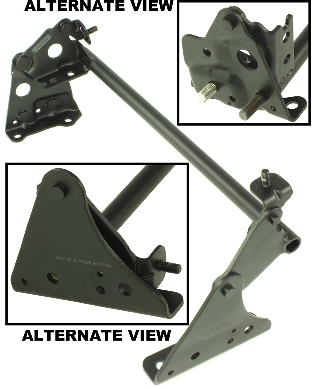 APDTY 035338 Driver Seat Lifter Bracket Repair Linkage For 2003-2007 Nissan Murano (Eliminates Seat Rocking)(Replaces Nissan Part #: 87473-CA01A, 87473CA01A)
