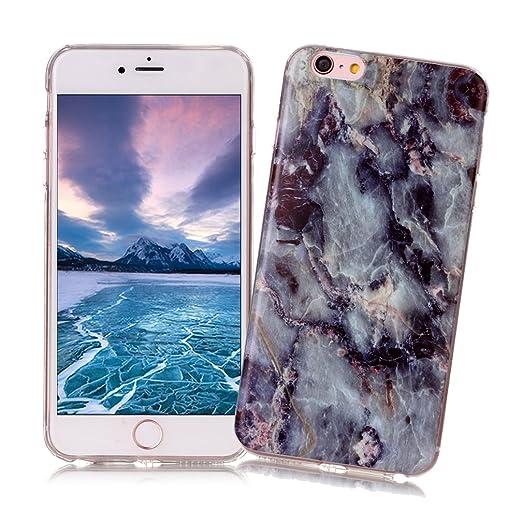 11 opinioni per Cover iPhone 6/6S con Disegno di Marmo XiaoXiMi Custodia in TPU Silicone Soft