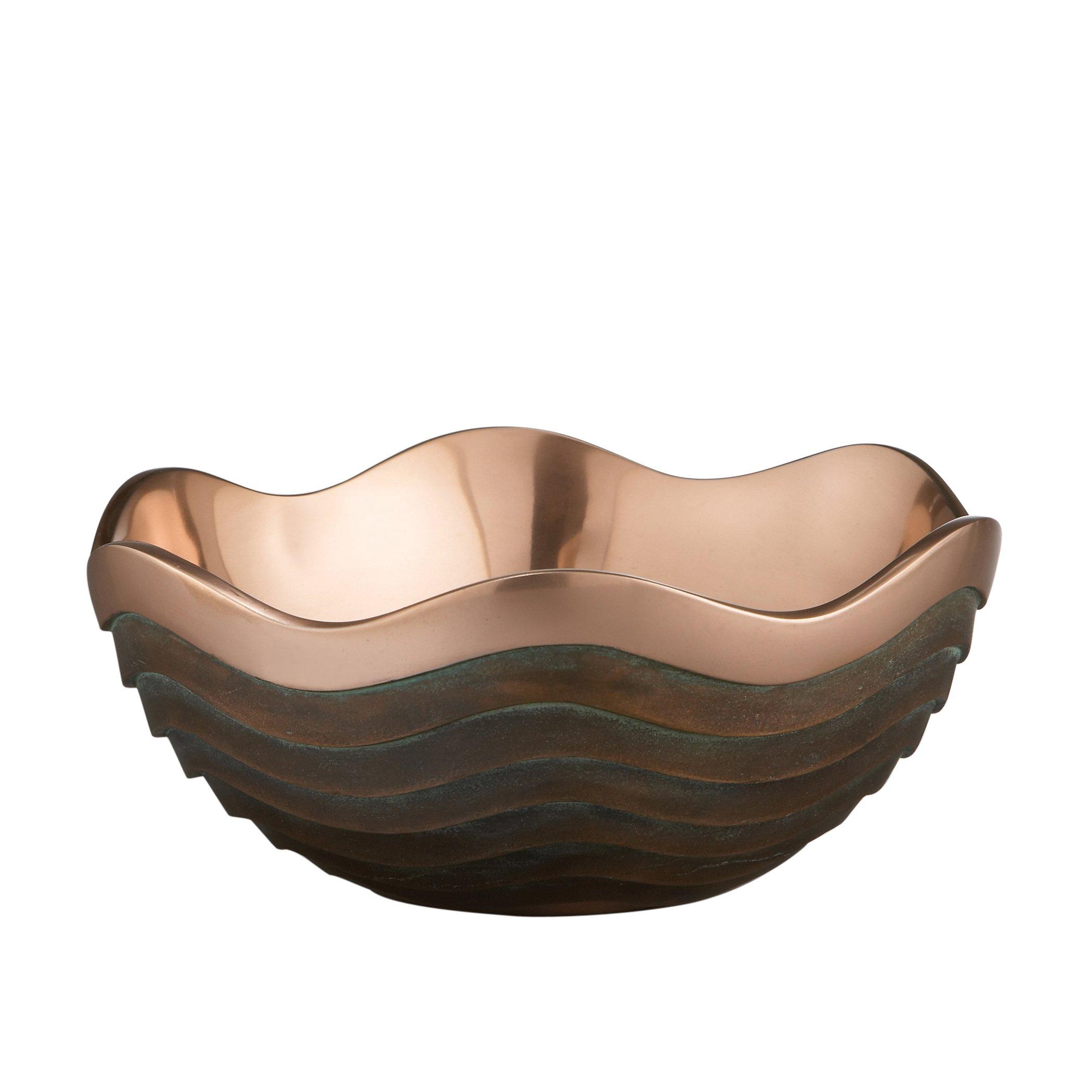 """Nambe Copper Canyon Bowl, 10"""""""
