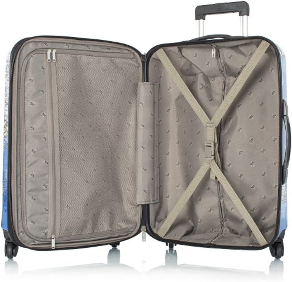 Black Mosaic Marble Pattern Traveler Lightweight Rotating Luggage Cover Can Carry With You Can Expand Travel Bag Trolley Rolling Luggage Cover