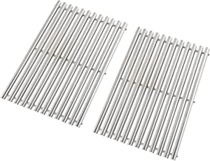 "Replace parts 7527, 7525, 7526, 7639, 7638 Cooking Grates for Weber Spirit 300 Series, Spirit 700, Genesis Silver B/C, Genesis Gold B/C -17 1/4 X 23 1/2"" Grates (Stainless Steel)"