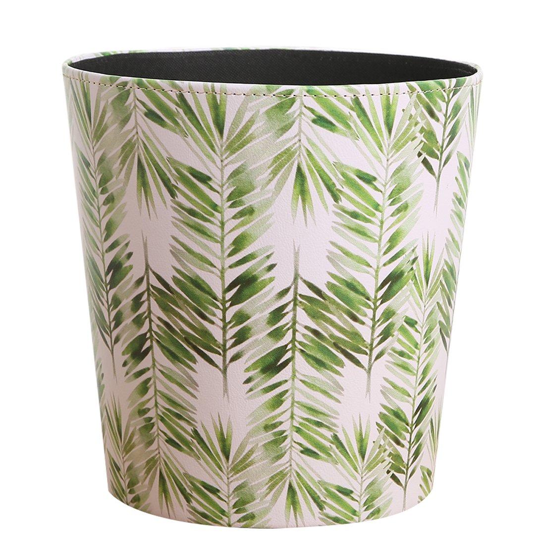 LoKauf 10L Vintage Waste Paper Bin Waste Paper Basket Trash Bin Household Wastebasket 26 * 26 * 26cm